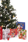 Christmas Tree Full of Gifts Stock Photos