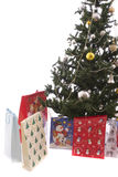 Christmas Tree Full of Gifts Royalty Free Stock Photos