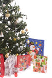 Christmas Tree Full of Gifts Royalty Free Stock Photography