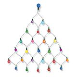 Christmas tree garland Royalty Free Stock Photography