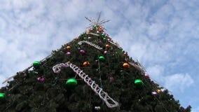 Christmas tree garland Royalty Free Stock Photography