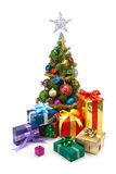 Christmas tree&gift boxes-11 Stock Image