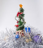 Christmas tree. Gift for christmas and Happy New Year Stock Photo