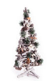 Christmas tree gift winter. Isolated Royalty Free Stock Images
