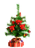 Christmas Tree and Gifts. Royalty Free Stock Images