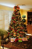 Christmas Tree Gifts Stock Photo