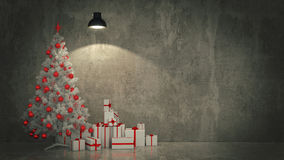 Christmas Tree with Gifts,Christmas concept. Stock Photography