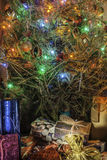 Christmas Tree Gifts Royalty Free Stock Photos