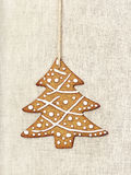 Christmas tree gingerbread Royalty Free Stock Photo