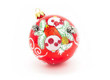 Christmas-tree glass decorations Royalty Free Stock Photo