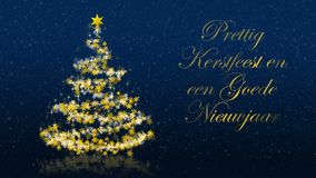 Christmas greetings blue stock footage illustration of 2017 christmas tree with glittering stars on blue background dutch seasons greetings stock footage m4hsunfo