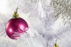 Christmas tree globe Royalty Free Stock Photos