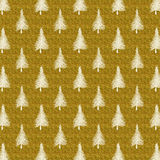 Christmas Tree Gold White Faux Foil Trees Background Royalty Free Stock Images