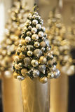 Christmas Tree golden blur Royalty Free Stock Images