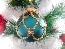 Christmas Tree And Golden Stars Stock Photos
