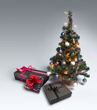 Christmas Tree on gradient background Royalty Free Stock Photography