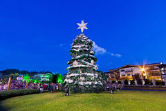 Christmas tree, Gramado city, Rio Grande do Sul - Brazil Stock Photography