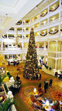 The Christmas Tree at Grand Floridian Hotel's Lobby Stock Photography