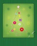 Christmas Tree Green Stock Photo
