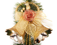 Christmas tree with group bell. Royalty Free Stock Photos