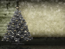 Christmas tree and handmade paper Stock Photos