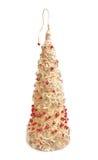 Christmas tree of handwork Royalty Free Stock Photos