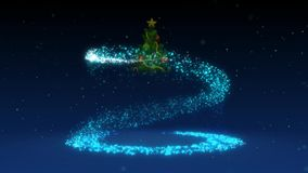 Christmas tree. Happy New Year. vector illustration