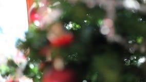 Christmas tree stock video