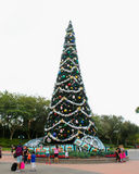 Christmas Tree at Hollywood Studios, Orlando, FL. Stock Photography