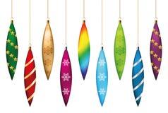Christmas tree icicles se Royalty Free Stock Image
