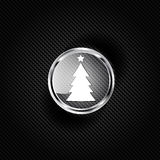 Christmas tree icon Royalty Free Stock Image