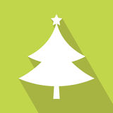 Christmas Tree Icon Stock Images