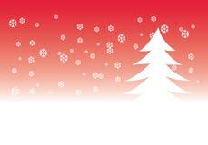 Christmas tree illustration Stock Photos