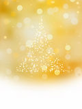 Christmas tree illustration. EPS 8 Royalty Free Stock Photo
