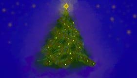Christmas Tree Illustration Stock Photography