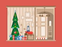 Christmas tree interior Stock Photos
