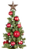 Christmas tree isolated Royalty Free Stock Photography