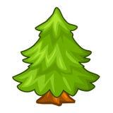 Christmas tree isolated illustration Stock Photography
