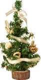 Christmas tree isolated on white Royalty Free Stock Photos