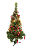 Christmas tree isolated on white Stock Photos