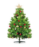 Christmas tree isolated. Stock Image
