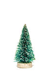 Christmas tree isolated Stock Images