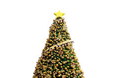 Christmas tree. Isolated on white background Stock Photography