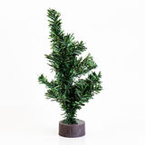Christmas tree isolated on white Stock Images