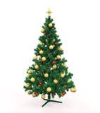 Christmas Tree Isolated Royalty Free Stock Image