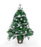 Christmas Tree Isolated Stock Photos