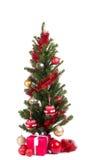 Christmas tree isolated on white background Stock Photo