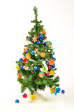 Christmas Tree isolated on white Royalty Free Stock Photo