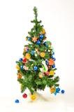 Christmas Tree isolated on white Royalty Free Stock Photo