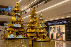 Christmas Tree JK Mall Sao Paulo Royalty Free Stock Photos